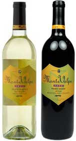Monte Volpe Wine Bottles